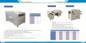 China UV Board Paper Coating Laminating Machine for 2000mm Printed Photo Paper,PVC,Card Board Wood with CE on sale