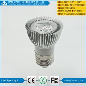 China 3W dimmable led spot light GU10 high brightness LED lighting AC85-265V on sale