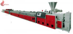 China Plate wood plastic compositeextrusion machine 55kw For PVC / PE / PP on sale