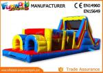 Sports Challenge Outdoor Inflatable Obstacle Course For Adults CE UL SGS