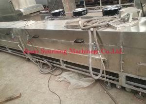 China Professional Fried Instant Noodle Production Line Small Size 380V 50HZ 500kg on sale