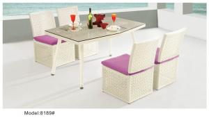China Comepterory outdoor swimming pool dining set-8189 on sale