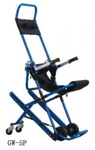 China High Strength Medical Stretcher , Aluminum Alloy Evacuation Stair Chair Stretcher on sale