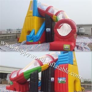 China spiral slide inflatable , inflatable dry slide , inflatable slide on sale