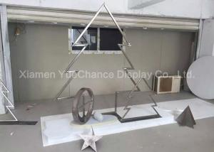 China Special Design Metal Christmas Star Decorative Metal Star Ornaments For Gift on sale