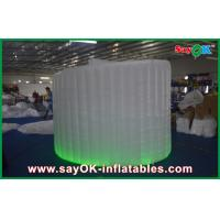 Light Blue Waterproof Inflatable Booth Oxford Cloth For Wedding