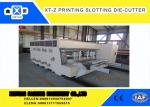 Carton box making Flexo Printing slotter  Machine With 100 Pieces / Min Max Speed , High Efficiency