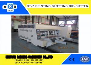 China Carton box making Flexo Printing slotter  Machine With 100 Pieces / Min Max Speed ,Corrugated Carton Machinery on sale