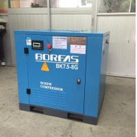 7.5KW 10HP dircect driven 116psi 42cfm low noise air cooling screw air compressor