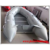 China EU CE approved aluminum floor inflatable boat and 2.9m inflatable fishing boat on sale