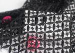 Poly Guipure Water Soluble Chemical Dying Lace Fabrics Embroidered For Lace Top