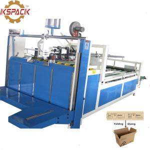 China Semiautomatic Corrugator Carton Box Folder Gluer Packing Machine on sale