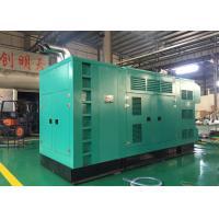 Industrial 625KVA Quiet 3 Phase Diesel Generator Water Cooled Type