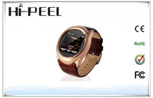 China GSM Wrist Watch Phone Bluetooth Phone Watches With FM Radio For Businessmen on sale