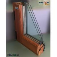 High grade Three layers glass Aluminium Window Profiles in apartment building