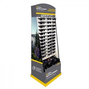 China Corrugated display shelf for sunglasses on sale