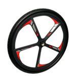 Racing wheelchair wheels