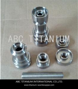 China universal domeless titanium nail with GR2 14mm/18mm on sale