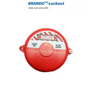 China F11 F12 F13 F14 F15 RED Gate Valve safety Lockout with PP material on sale