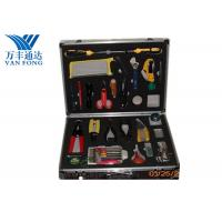 Fusion Splicing Fiber Optic Tool Kit 26 Yools In One Case 430 × 330 × 135 mm