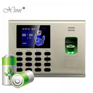 China Real Time Attendance Access Control System Multi Languages TCPIP USB Host on sale