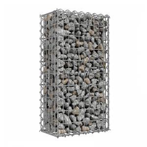 China 2x1x1 Cheap Stone Gabion Wires Box Wall Gabion Basket Wire Mesh Fencing on sale