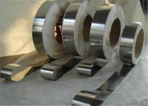 China 304 2B Stainless Steel Strips , Min Width 10mm Cold Rolled Strip on sale