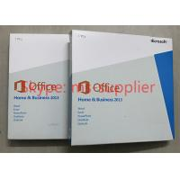 Original Office 2013 Retail Box Media DVD , Office Home And Business 2013 Multi Functions
