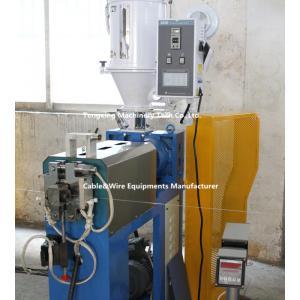 China Φ50 PVC, ligne isolante d'extrusion de fil de PE on sale