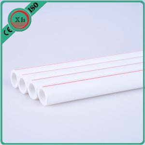 China White Plastic Hot Water Pipe , Plastic Cold Water Pipe ISO9001 Standard on sale