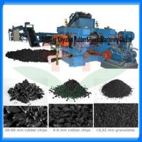 China 10-20Tons waste tire recycling machine /tire shredder/tire recycling plant on sale