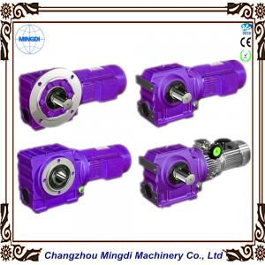 China Bevel / Miter Gearing K series Reducer Gear box With Electric Motor  on sale