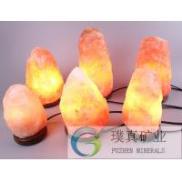 Himalayan crystal Rock Salt Lamps for air-cleaning home decoration