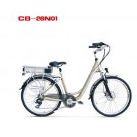 European standard Classical Ladies electric bicycle / electric assist bikes 26
