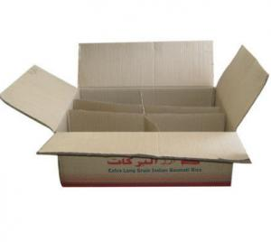 Standard Size Corrugated Cardboard Shipping Boxes For