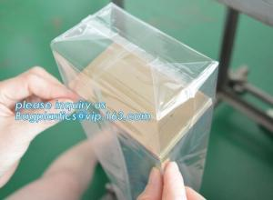China Cellophane Block Stand Up Pouch Square Bottom Biodegradable Self Adhesive on sale