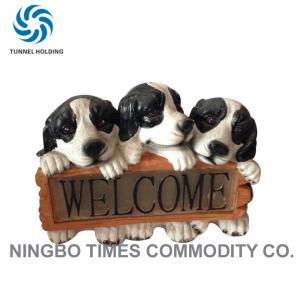China Waterproof Dog Solar Lights For Garden , 3500K - 5500K Three Solar Dog Lamp on sale