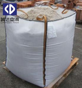 China Custom Logo FIBC Bulk Bags Plastic PP Woven 1000kg Bulk Fibc Container Bag on sale
