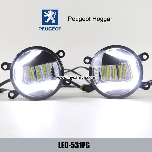 Peugeot Hoggar Drl Led Daytime Running Lights Fog Light Symbol On