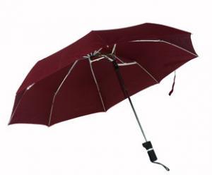 China La nouvelle conception pratique 3 gracieux sectionnent le parapluie spécial excentrique on sale