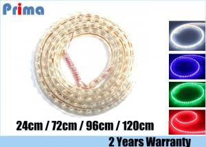 China DC 12V LED Strip Lights Vibration Resistant Green / Red / Blue / White / Purple on sale