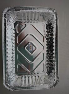 China Convenient Baking Tools Aluminum Foil Food Trays on sale