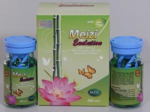 China Meizi Evolution Botanical Soft Gel Slimming Capsules Mze Reduce Weight Diet Pills on sale