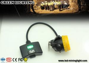China ABS Material 15000lux  IP68 Waterproof  Semi - Corded Underground Mining Lights With Warning Lights on sale