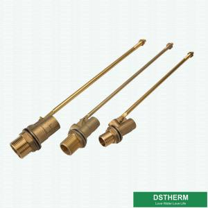 China Large Cistern Shut Off Copper Brass Float Ball Valve on sale