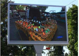 China Ip65 Full Color Outdoor LED Video Wall 10mm WIith HD Big Screen on sale