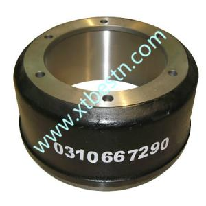 China semi-trailer  parts      Brake drum on sale