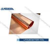 Li - ion Battery Cathode Basic Material electrodeposited copper foil roll