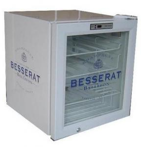 China MiniBar fridge cooler 52L solid door fridge with tem.control panel on sale