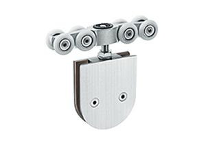 China Non Noise Sliding Patio Door Rollers , Smooth Operation Hanging Sliding Door Rollers on sale